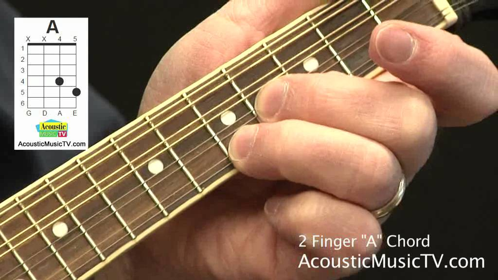 How To Play A Two Finger A Chord On The Mandolin Acousticmusictv