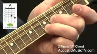 How Play Two Finger Chord Mandolin Acousticmusictv Com