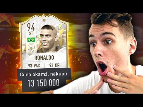Download TOTO JE NEJVZÁCNĚJŠÍ KARTA VE FIFA 22!! IKONA 94 RONALDO 😱