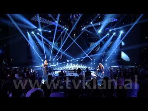 ARILENA & TUNA - X FACTOR ALBANIA 2 (NATA FINALE)