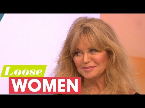 Goldie Hawn On Playing Amy Schumer's Mum And Her Relationship With Kurt Russell  Loose Women