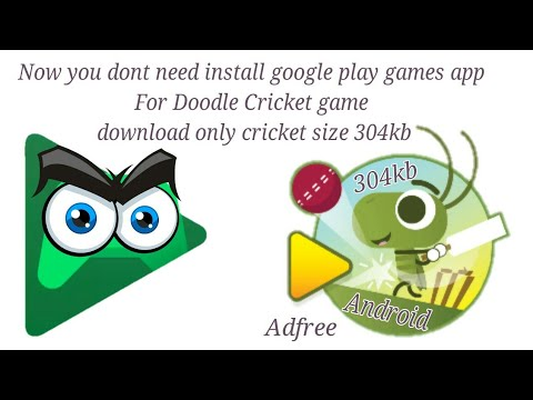 Doodle Cricket Game Download Without Google Play Games