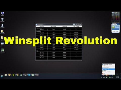 WinSplit Revolution Tutorial; Perfect for Day Trading | SchoolOfTrade com Support