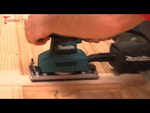 Review and Demo - Makita BO3710 and BO3711 Orbital Sander