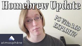 Atmosphere CFW RELEASED!  Vita 3.69 EXPLOITED?!  - Homebrew Update Week of 10.14.18
