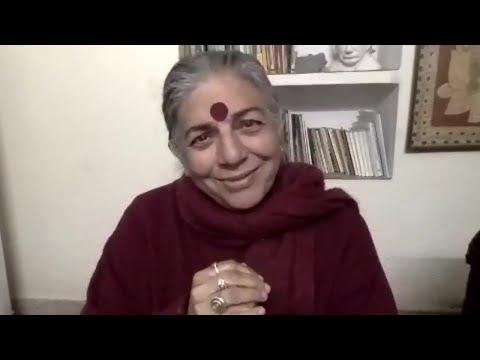 Dr. Vandana Shiva. A Narrative of Love, conversation series with Scherto Gill