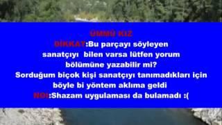 Ümmü Kız Ege Türküleri