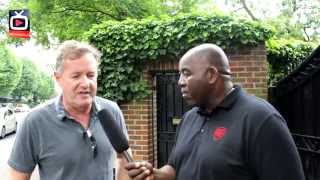 Piers Morgan Interview Pt 1 - Sorry Thierry But Bergkamp Is The Best Ever Arsenal Player !!!
