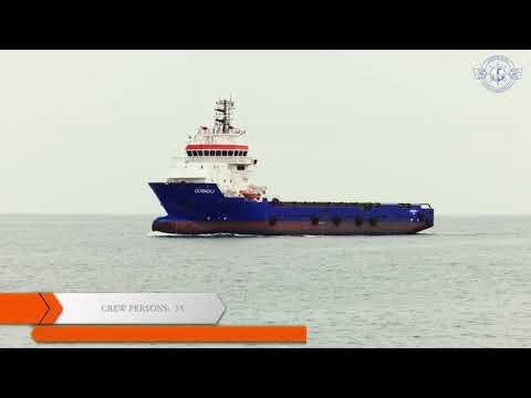 """Gubadli"" platform supply vessel"