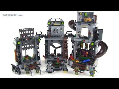LEGO Ninja Turtles 79117 Turtle Lair Invasion Set Review!