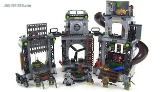 LEGO Ninja Turtles 79117 Turtle Lair Invasion set Review!