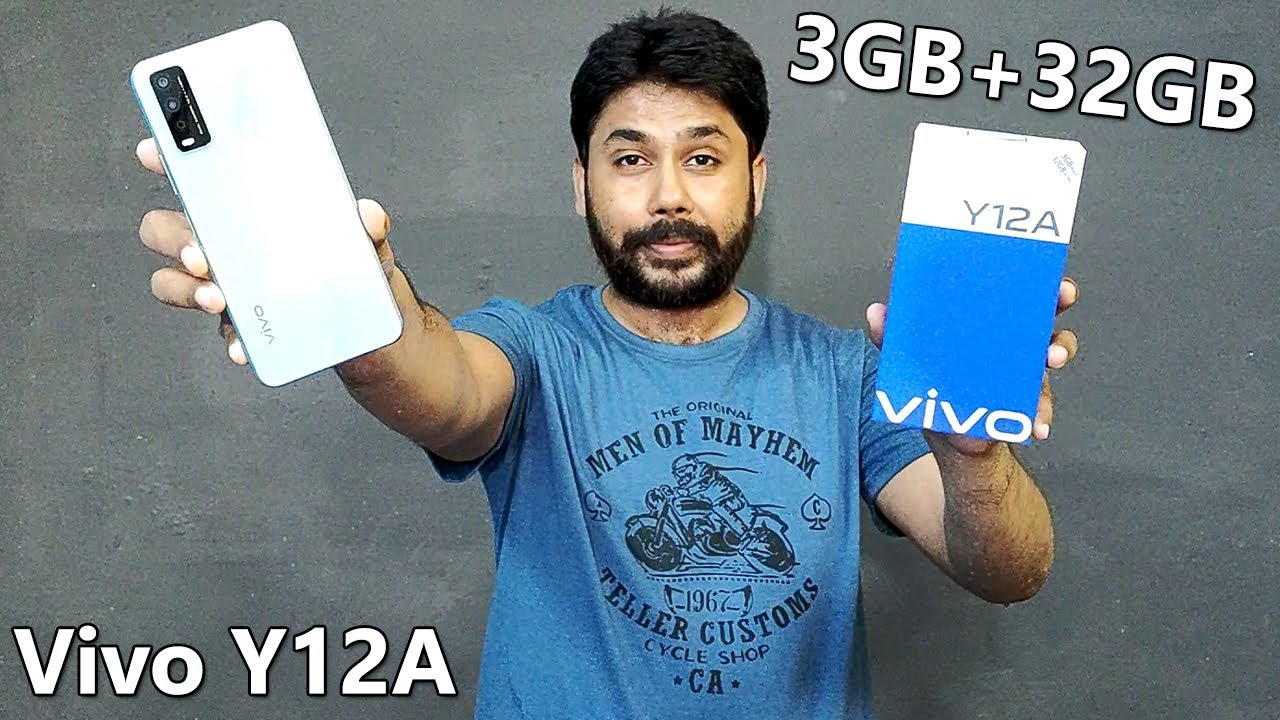 Vivo Y12A Unboxing & Review | 3GB+32GB | Price In Pakistan