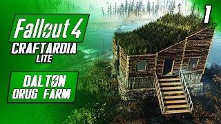 DALTON DRUG FARM 1 - Main Cabin Farm - Fallout 4 Craftardia Lite - Fallout 4 Base Building