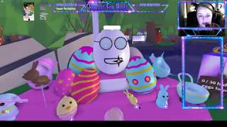 Adopt Me! Easter Egg Hunt Event in Roblox! We find ALL 30 eggs!
