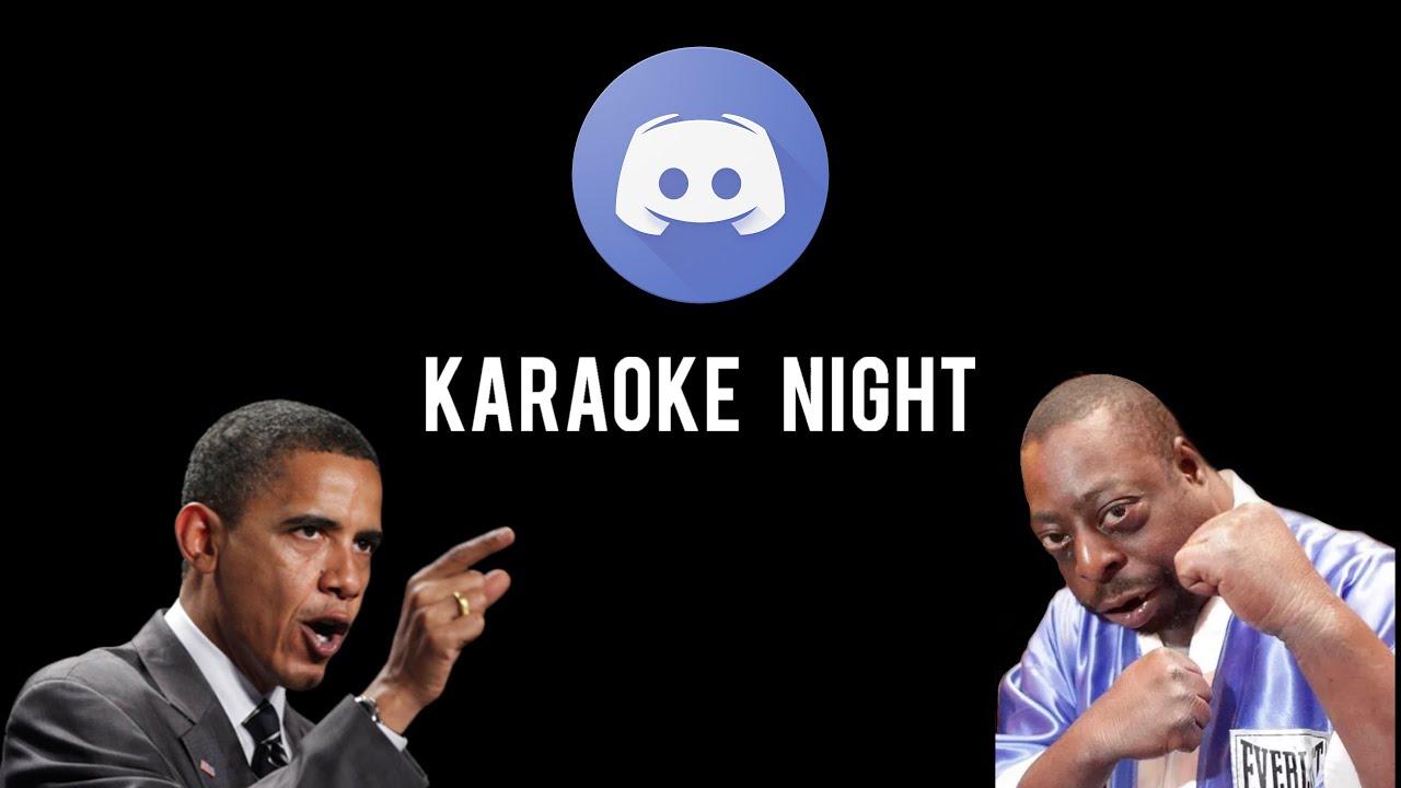 Karaoke Night with the Boys