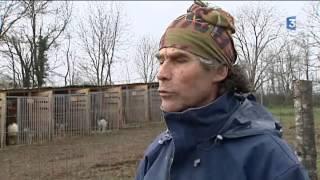Il est agriculteur et musher et fait découvrir les courses de chiens de traîneau