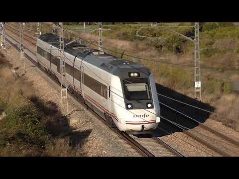 Renfe Media Distancia - 599 en el Corredor Mediterraneo con destino Cartagena
