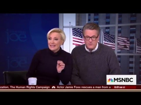 Morning Joe Brzezinski to Wasserman Schultz : 'You Screwed Yourself'