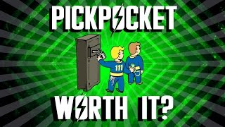 Fallout 4 - Pickpocket Perk - Is It Worth It?