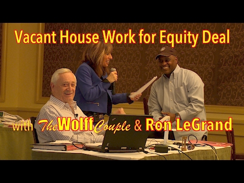 LIVE Closing Call | Vacant House Work for Equity