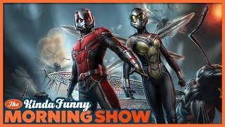Greg Miller's Ant-Man and the Wasp Review - The Kinda Funny Morning Show 07.13.18