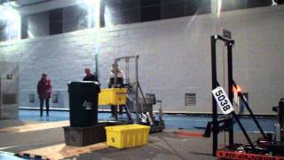 Megiddo Lions FRC 5038 Recycle Rush 2015 - Robot Reveal