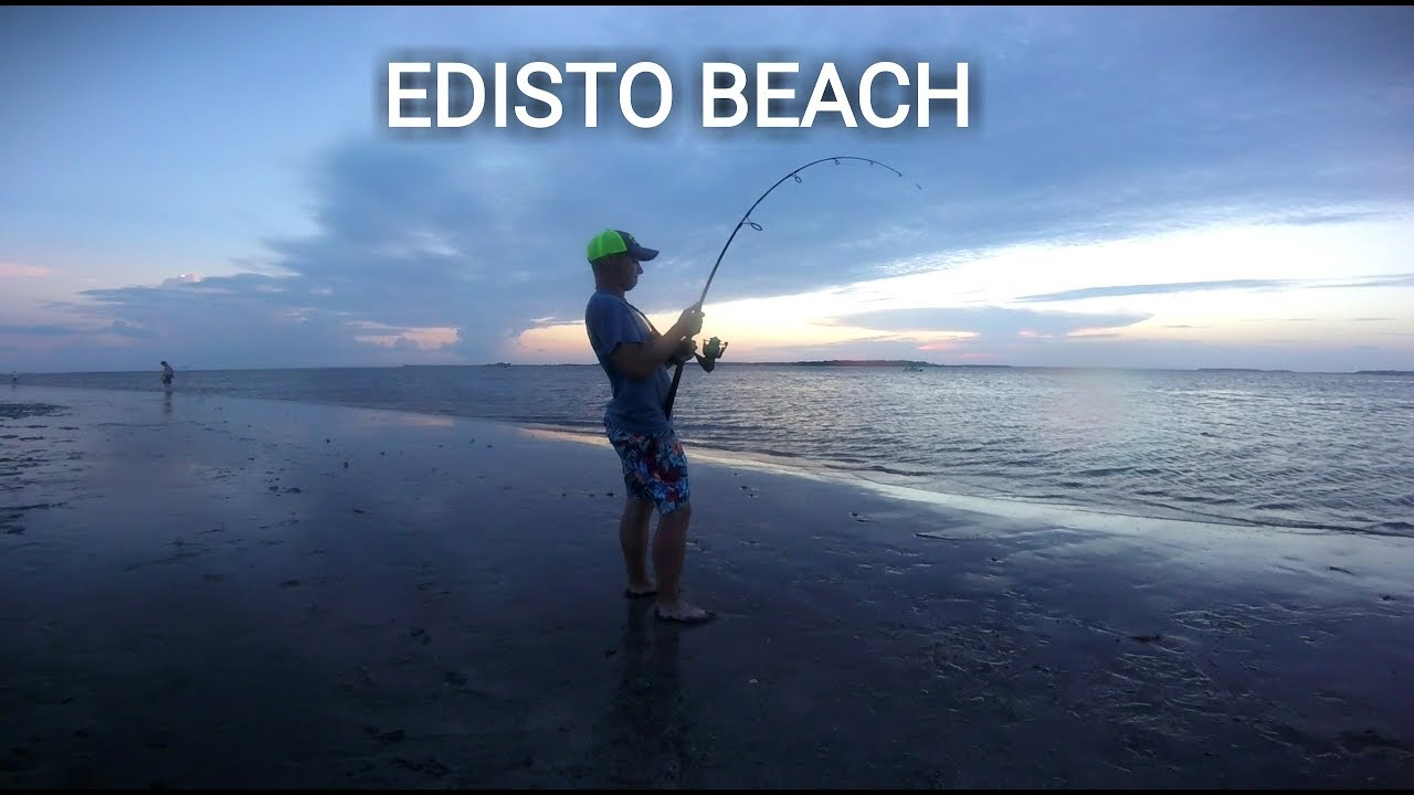 Edisto Beach Surf Fishing Krusty Krab