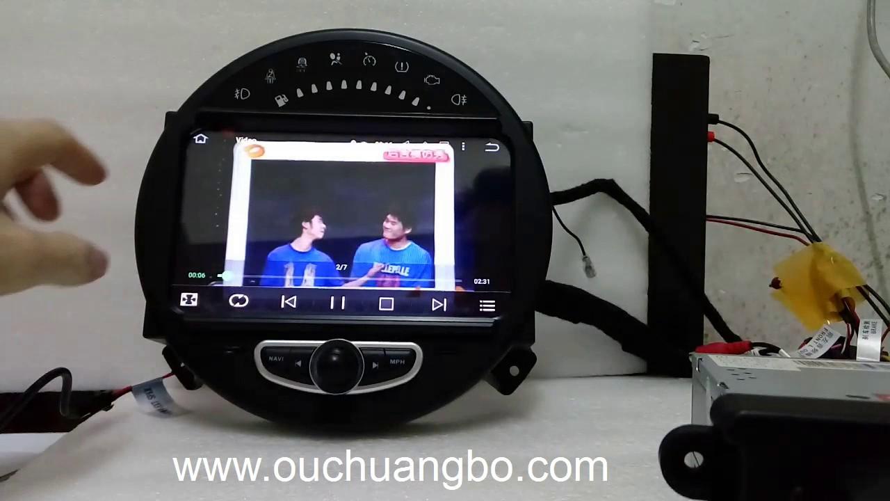 oucangbo car gps radio navi for mini cooper 2006 2013 android 5 1 Mini Cooper Stereo Head Units oucangbo car gps radio navi for mini cooper 2006 2013 android 5 1 system quad core