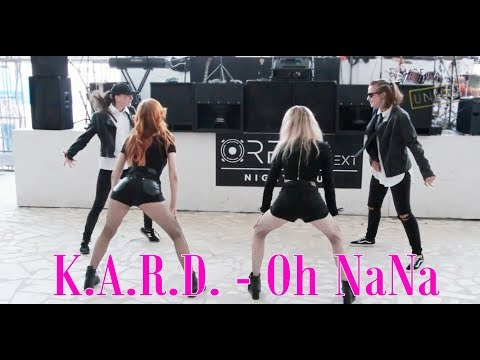 K.A.R.D - Oh NaNa / 카드 - 오나나 / dance cover by A.Win / Art fest UNLIMITED 2017 Odessa