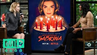 "Kiernan Shipka Discusses Netflix's ""Chilling Adventures of Sabrina"""