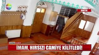 İmam, hırsızı camiye kilitledi!