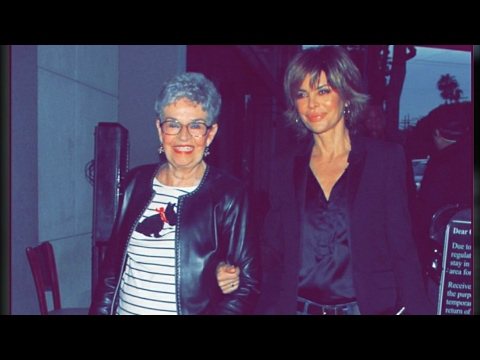 Actress Lisa Rinna with her adorable mother from The Real Housewives of Beverly Hills