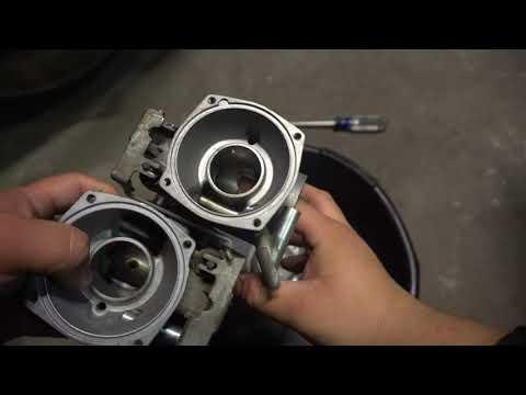 Yamaha Virago Cleaning Carbs Part 1 On A Xv1000