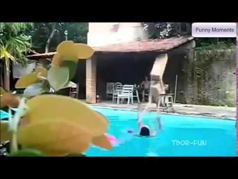 Funny Moments Fail In Swimming Pool Youtube