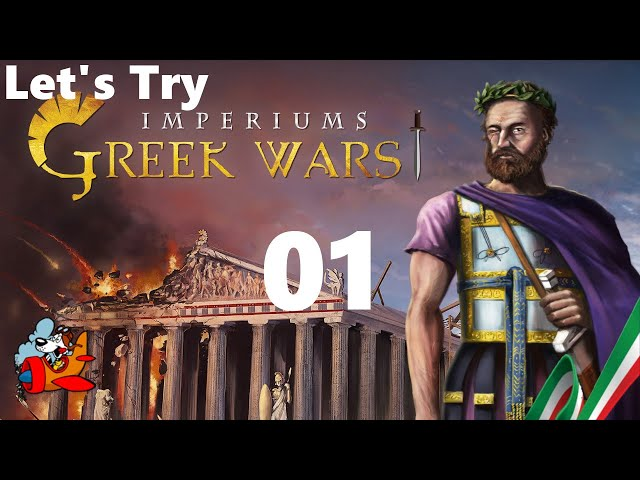 Imperiums: Greek Wars [Let's Try ITA Tutorial] 01