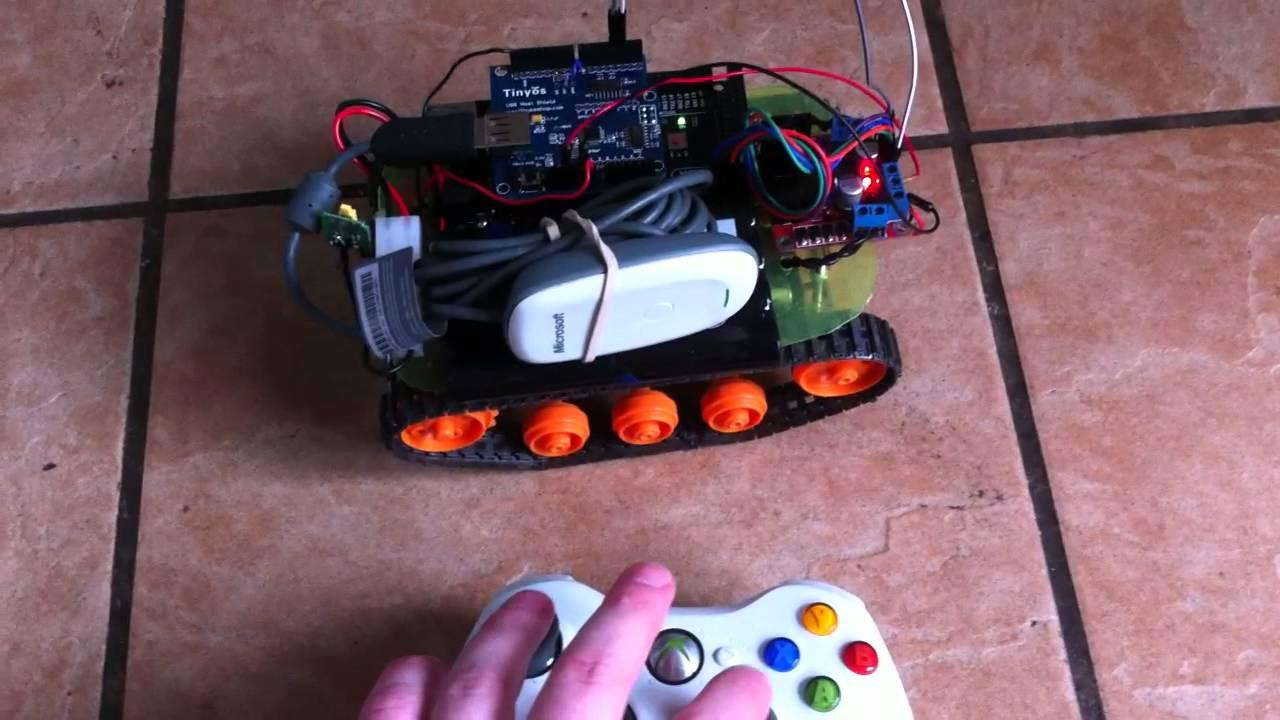 xbox wireless controller arduino tank
