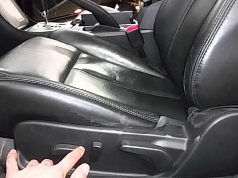 Cp0233 2009 Nissan Altima Driver Side Front Seat Youtube