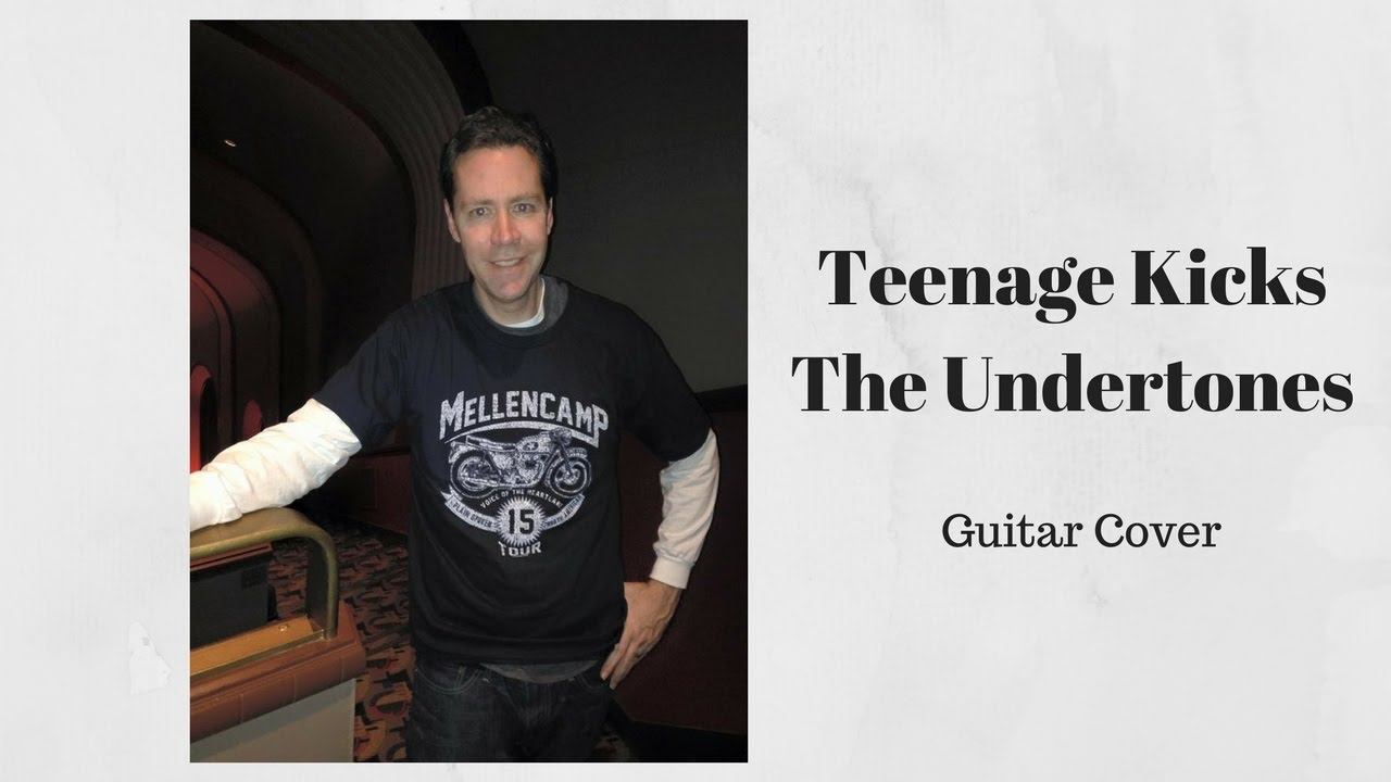 Teenage kicks guitar