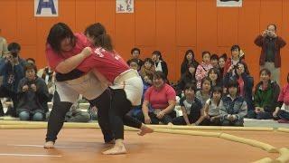 母の日、女相撲に沸く 2横綱生んだ北海道福島町