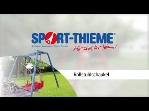 Video: Rollstuhlschaukel