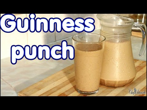 How To Make Jamaican Guinness Punch For Sunday Dinner | Recipes By Chef Ricardo