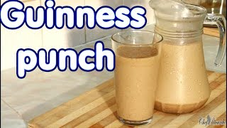 How To Make Jamaican Guinness Punch For Sunday Dinner   Recipes By Chef Ricardo