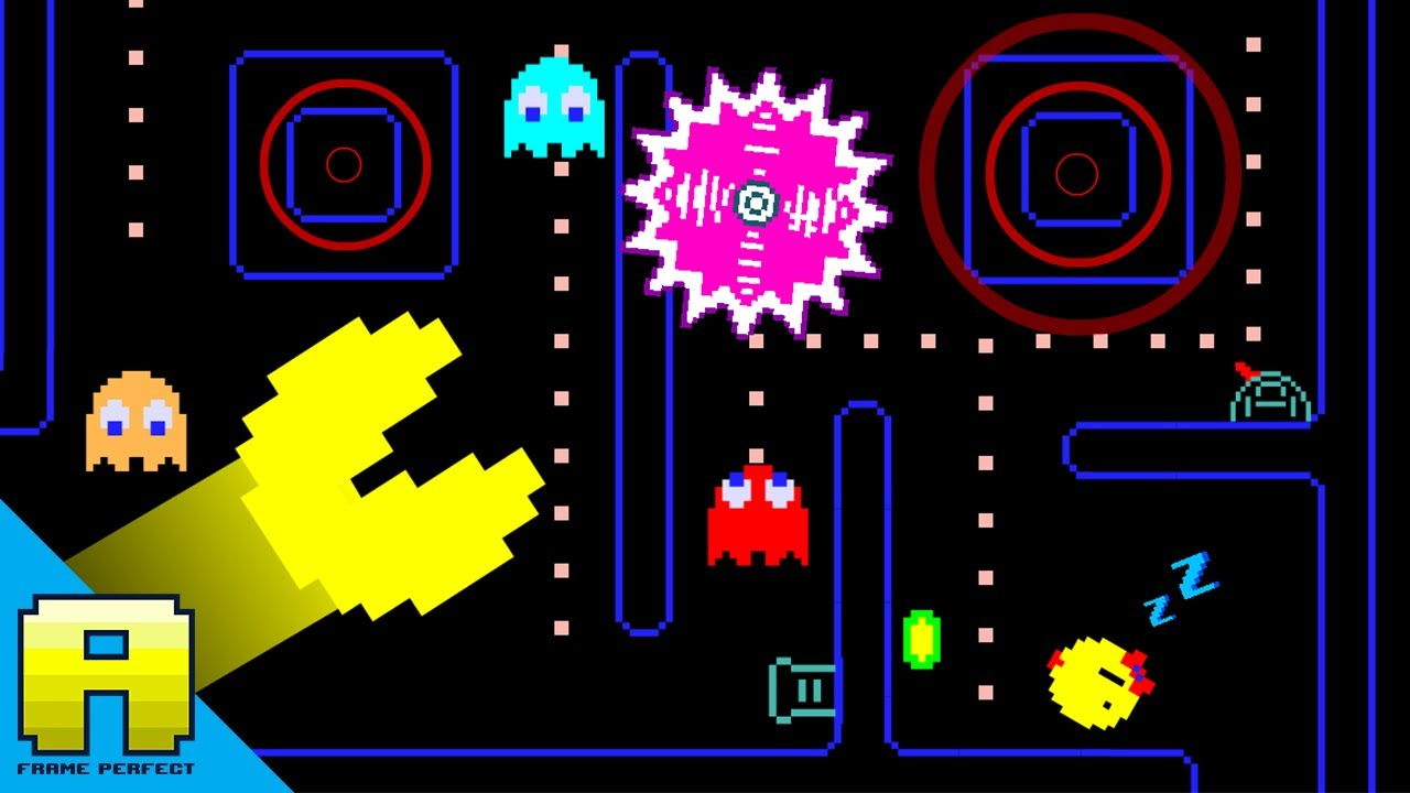 Pac-Man...   And Ms. Pac-Man?...   Madness!!!