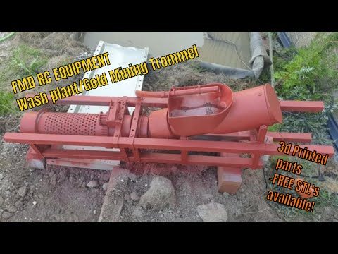 FMD RC Equipment - Gold Mining Trommel - 3d printed Wash plant