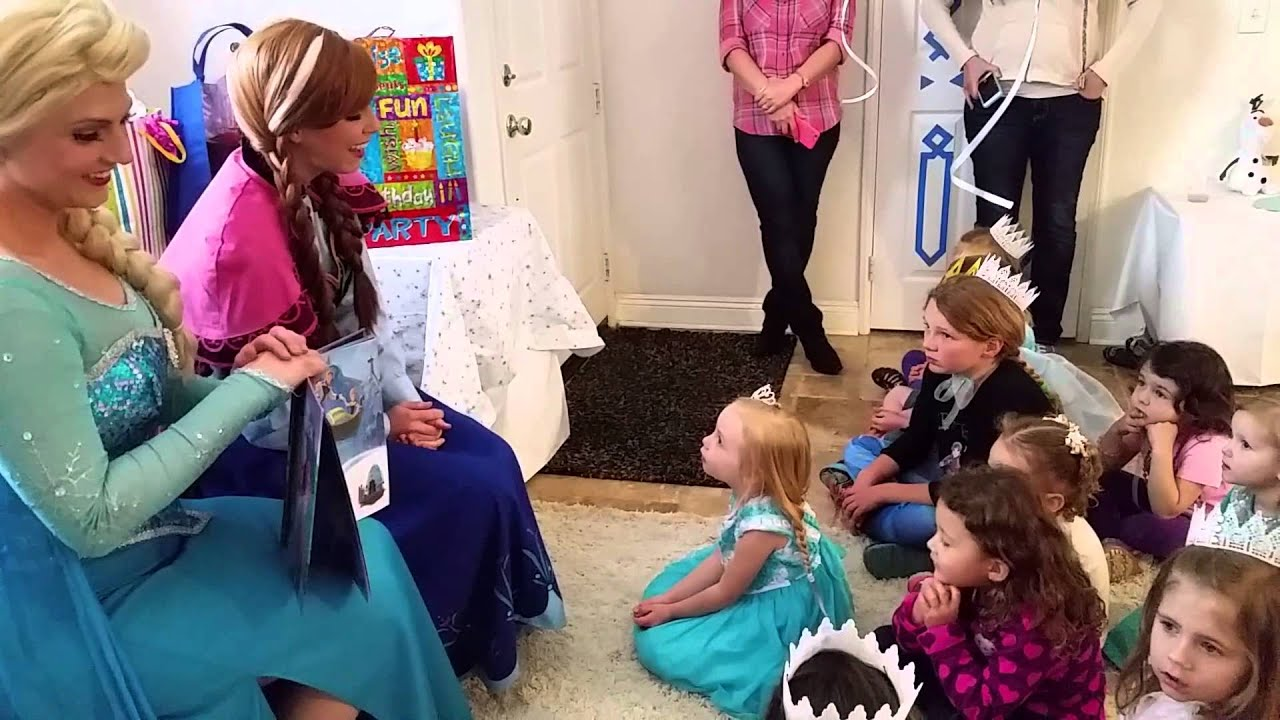 frozen birthday party theme for a 4 year old youtube