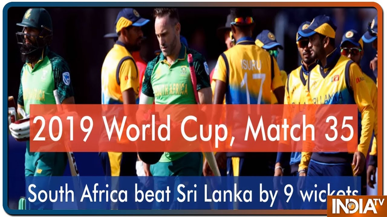 Sri Lanka vs South Africa, World Cup: Ousted South Africa dent Sri Lanka's semi-final hopes with nine-wicket win