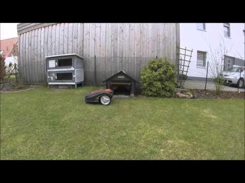 worx landroid garage youtube. Black Bedroom Furniture Sets. Home Design Ideas