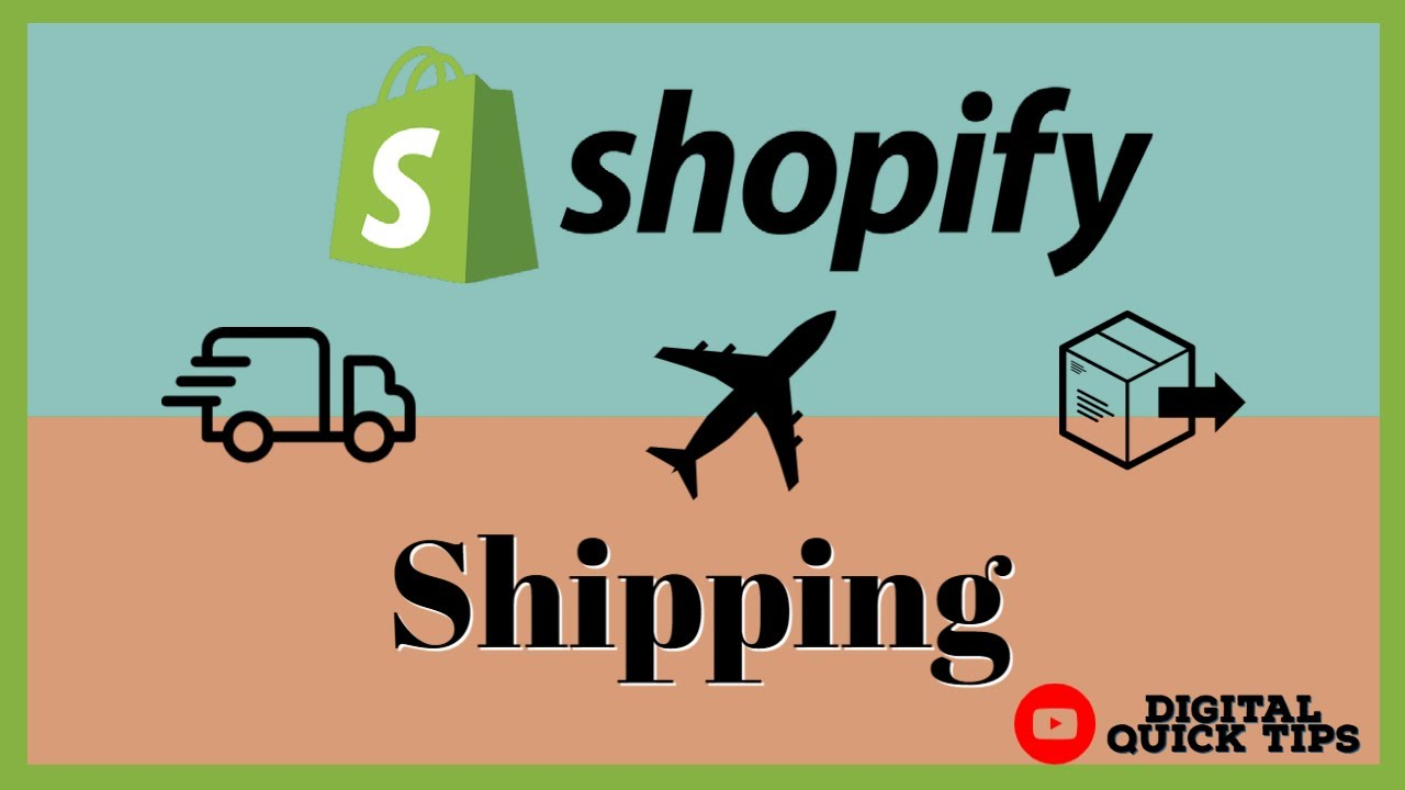 Shopify Shipping Tutorial | Shopify Shipping Overview In 2021