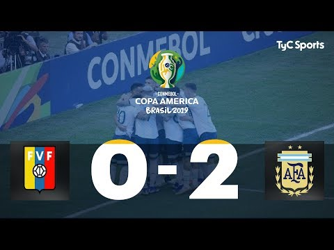 Copa América: Argentina venció a Venezuela y enfrentará a Brasil