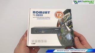 Видео обзор Romsat TR-2018HD